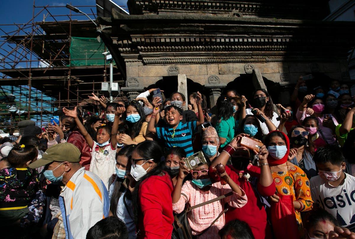 Festival season returns to Nepal amid declining COVID cases