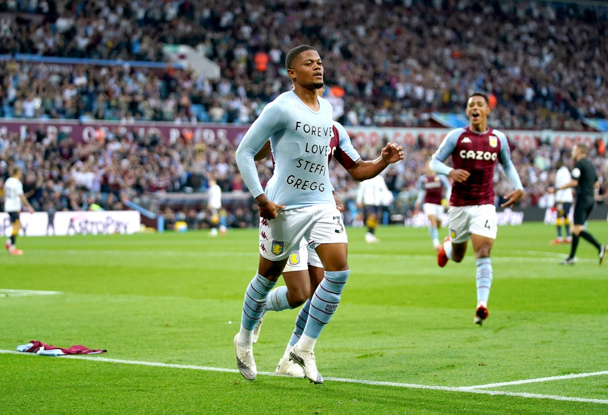 Leon Bailey reveals he sustained injury while scoring first goal for Aston Villa