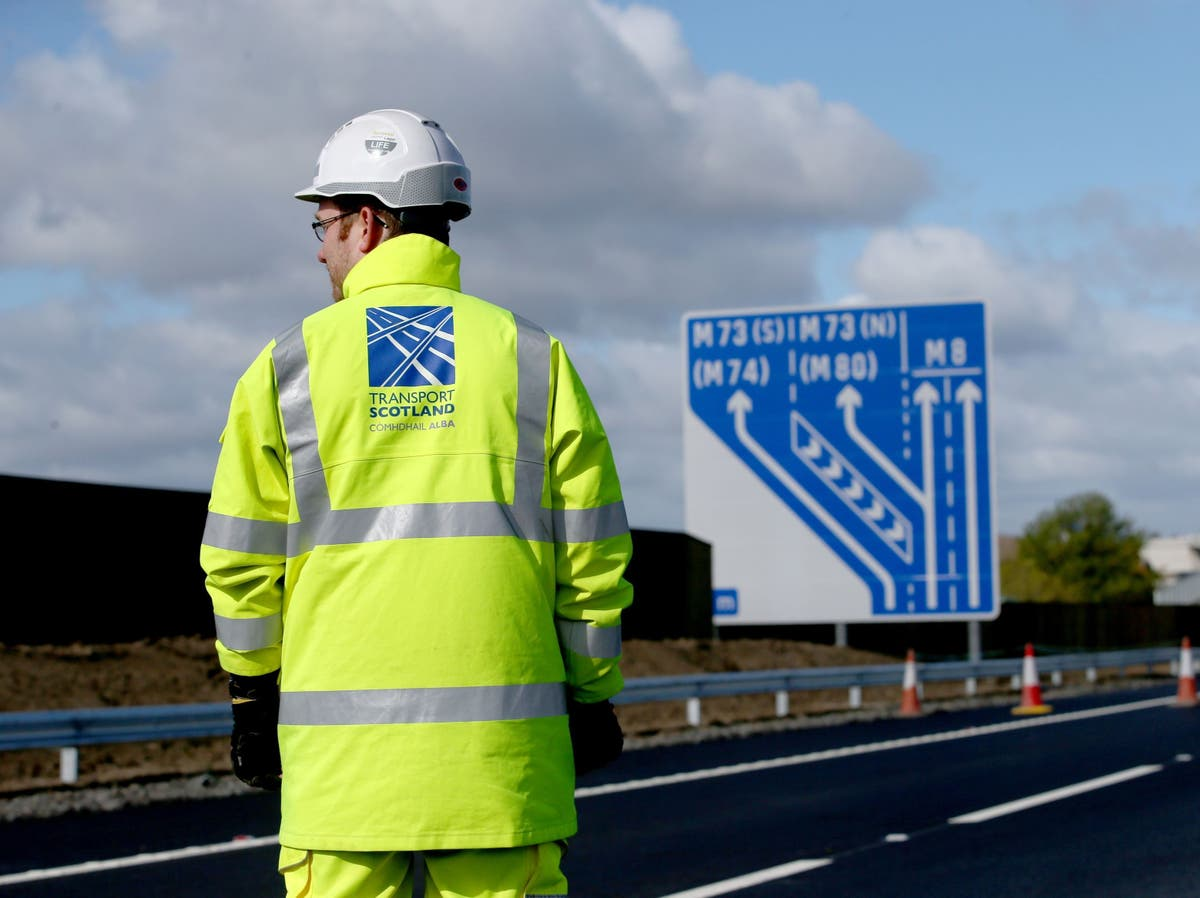 Three men killed and five seriously injured in M8 crash