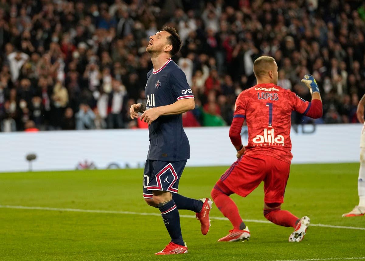 Le PSG arrache la victoire au dernier souffle mais l'attente de Lionel Messi pour le premier but se poursuit