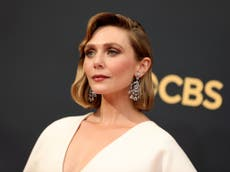 Emmy viewers react to 'stunning' Elizabeth Olsen dress designed by sisters