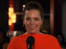 Olivia Colman in tears as she accepts Emmy: 'I lost my dad during Covid'