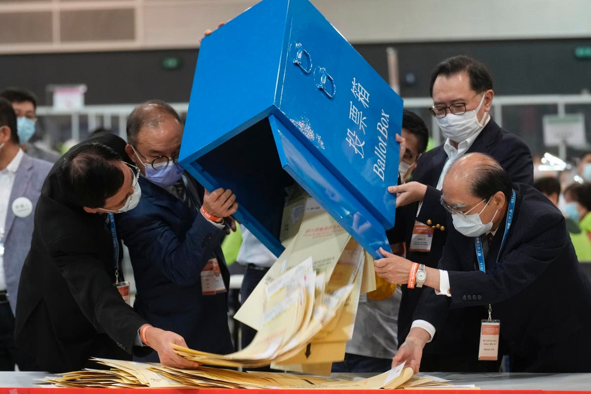New Hong Kong electors decided with only 1 opposition member
