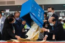 Die verkiesingsuitslae van Hongkong is in: 1 opposisie figuur, 1499 pro-Beijing