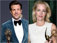 Emmys 2021: The Crown and Ted Lasso sweep major categories on night without a single winning actor of colour