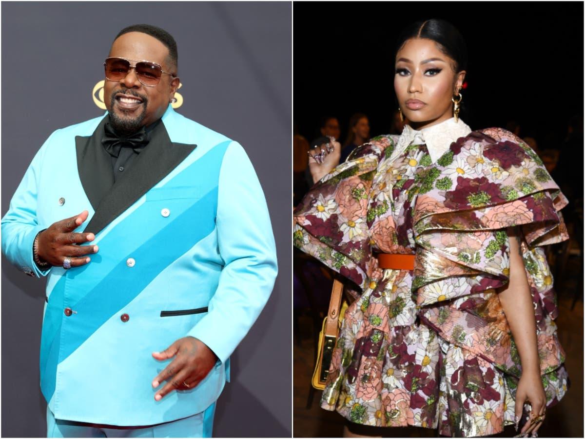 Nicki Minaj's vaccine claim mocked by Cedric the Entertainer at Emmy Awards