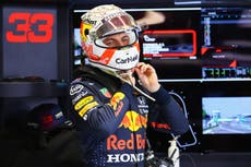 Max Verstappen 'carrying anger' towards Lewis Hamilton in F1 title race