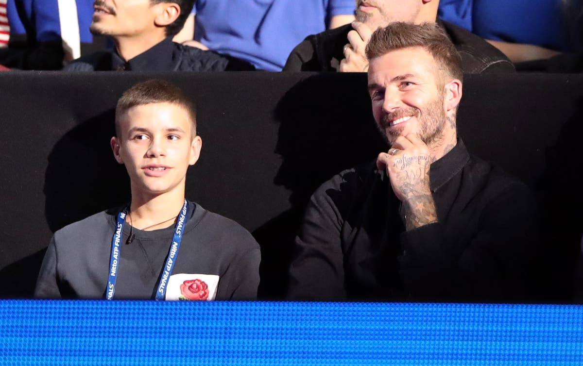 Romeo Beckham makes professional football debut for Inter Miami reserve team