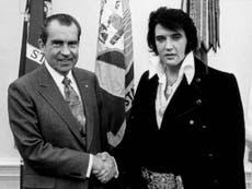Music presenter Bob Harris claims President Nixon told Elvis to spy on john Lennon