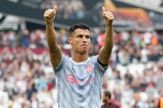 Cristiano Ronaldo offers support for footballer in intensive care
