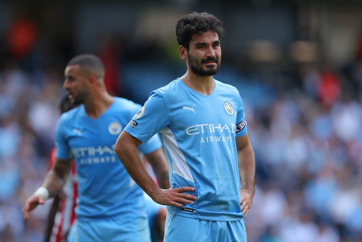 Ilkay Gundogan joins lengthening Man City injury list