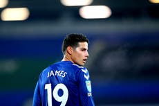 Everton's James Rodriguez set to for talks over Qatar move