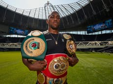 Anthony Joshua: 'The hardest battles in boxing are outside the ring'