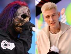 Machine Gun Kelly mocks Slipknot during concert