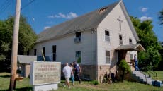 Arson suspected in fire at historic Kansas City church