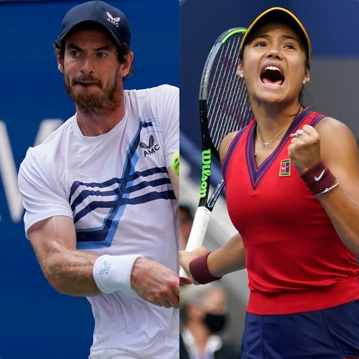 Andy Murray enfatiza a necessidade de o tênis britânico aproveitar o sucesso de Emma Raducanu