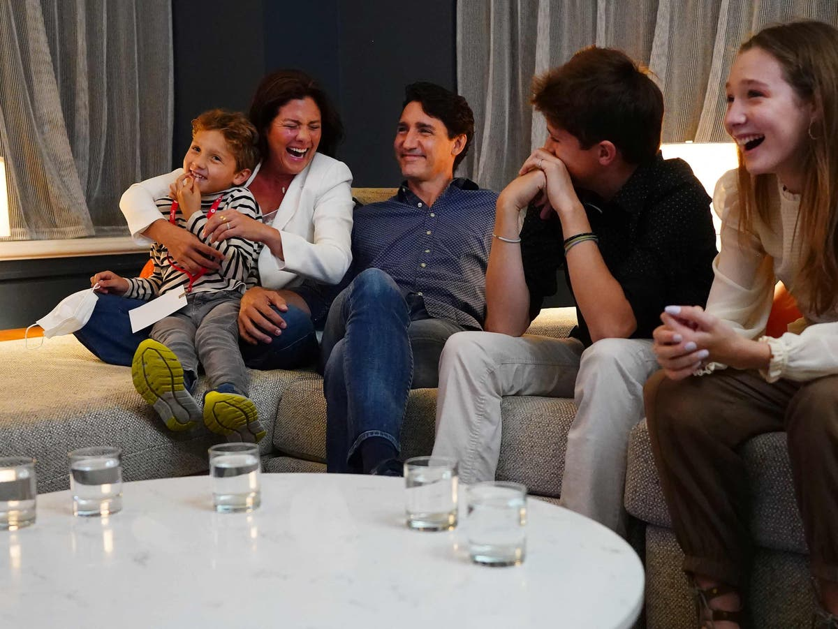 Justin Trudeau wins Canada election, projections say