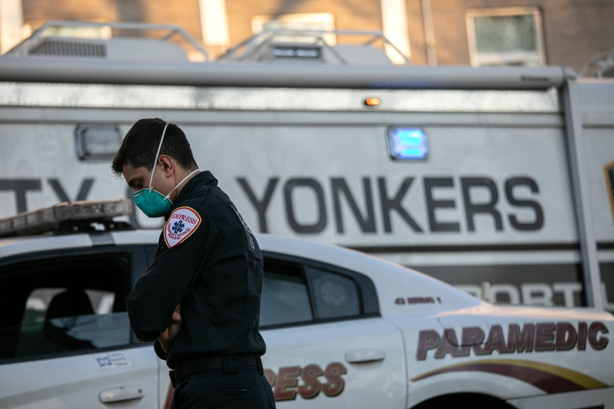 Man jumps off 12-storey building in New York and lands on man below, killing both
