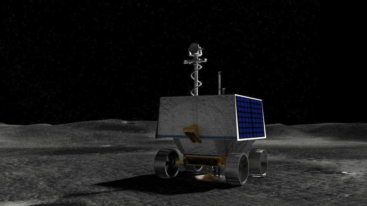 Nasa selects landing site on Moon for ice-hunting rover mission