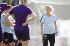 England boss Sarina Wiegman 'had to pretend to be a boy' to play football growing up
