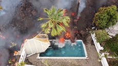 La Palma volcano 'a wonderful show' for tourists says Spanish minister