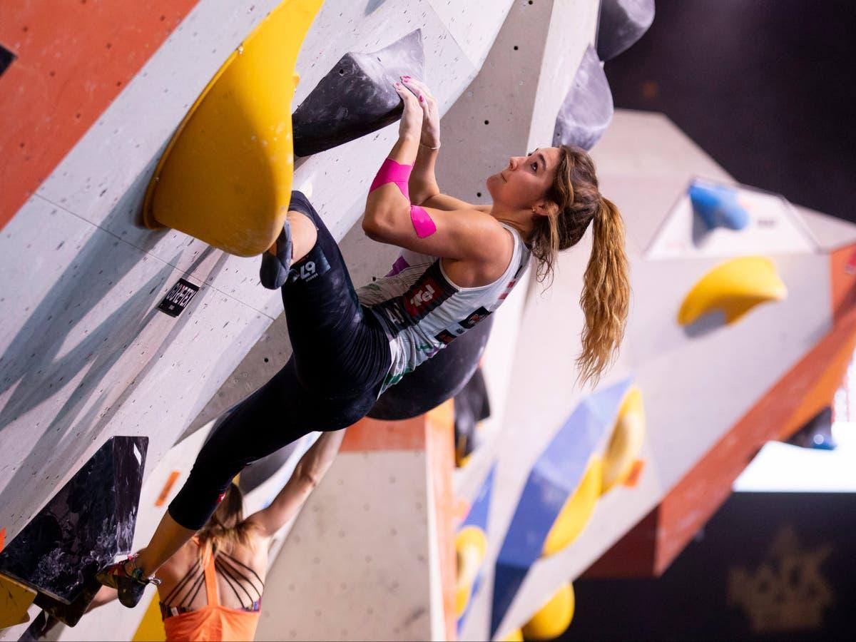 Climber recebe desculpas após imagens inadequadas dela mostradas na TV