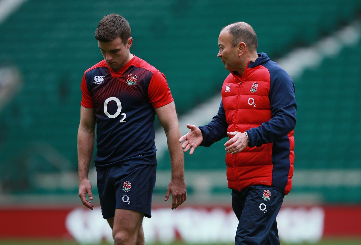 Eddie Jones tells dropped England stars to find best form or miss World Cup