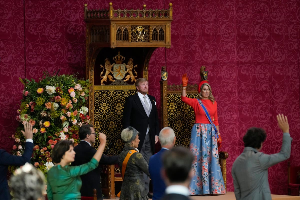 Dutch king's speech outlines limited government plans