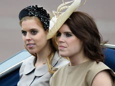 Princess Eugenie congratulates sister Beatrice and new baby niece