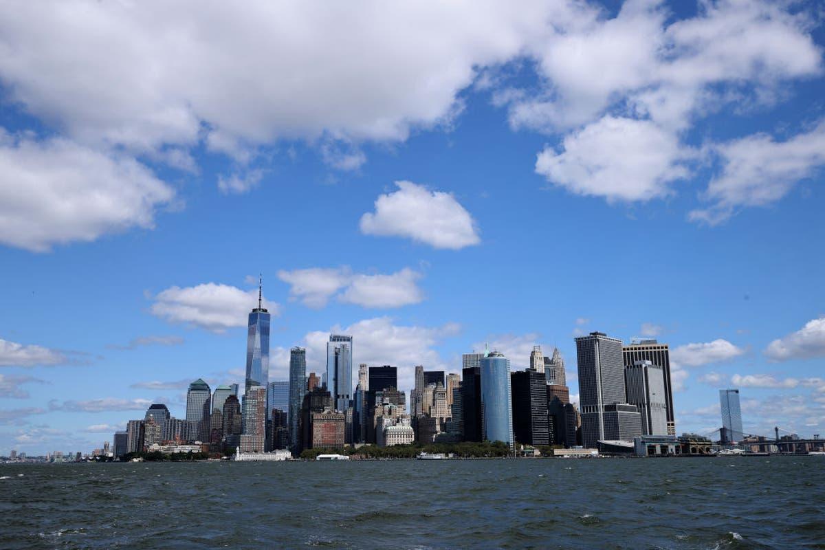 New York loop die risiko om vinnig water op te loop