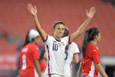 'Tom Brady doesn't have to have kids': Carli Lloyd on retirement