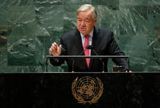 UN chief rips into billionaires Bezos and Branson for 'joyriding in space'