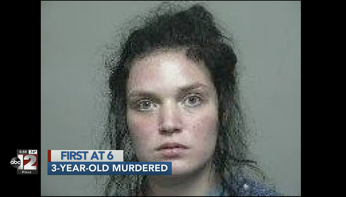 Michigan mom charged with murder after daughter found in garbage bag
