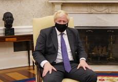 Boris Johnson tells Emmanuel Macron to 'get a grip' and 'donnez-moi un break' over defence pact