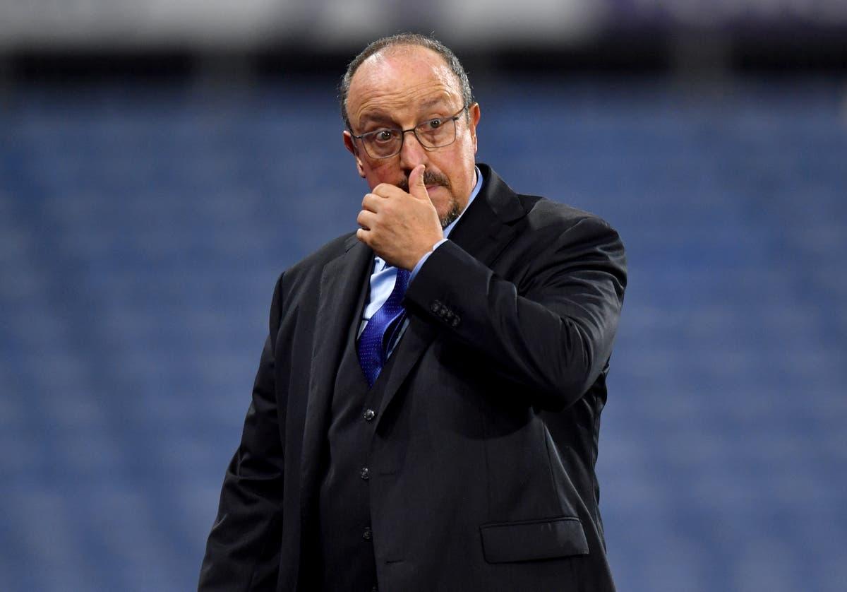 Rafael Benitez admits Everton were not good enough in Carabao Cup defeat