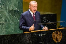 Turkey's Erdogan: Refugee crisis from climate change coming