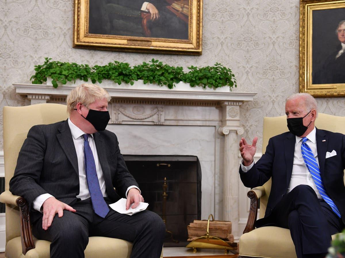 Biden 'wrong' on Northern Ireland, ministro diz - siga ao vivo