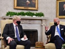 Biden 'wrong' on Northern Ireland, minister says - volg regstreeks