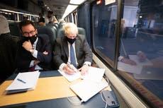電車への愛情の共有がジョンソンとバイデンを結びつける