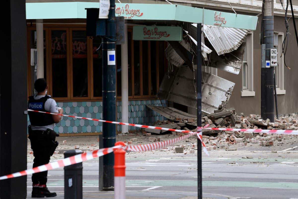 Melbourne earthquake: Damage reported as 'very rare' 5.8-magnitude quake hits