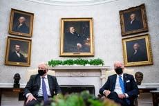 Joe Biden dashes Boris Johnson's hopes for speedy US-UK trade deal