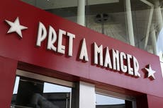 Pret a Manger à ouvrir 200 stores in two years after pandemic bounce back