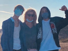 Britney Spears shares sweet birthday tribute to her two sons