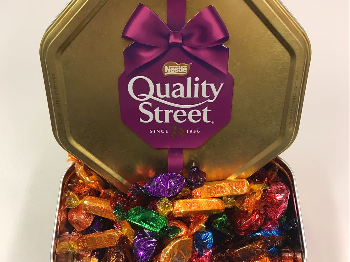 Quality Street reveals first white chocolate in 85-year history