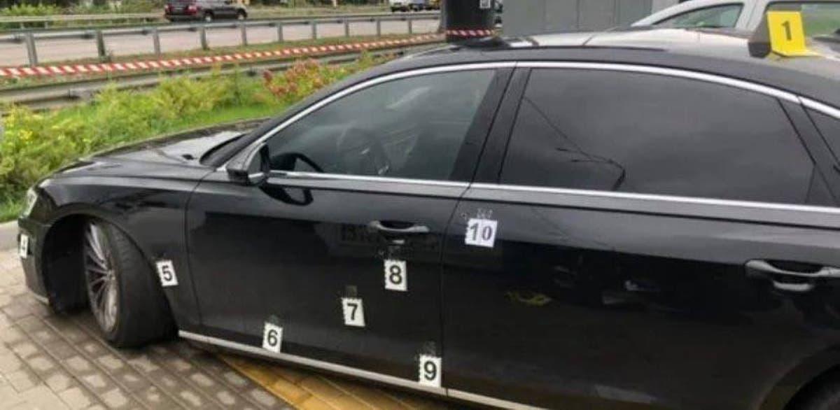 Tiros disparados contra carro do principal assessor do presidente ucraniano, motorista ferido