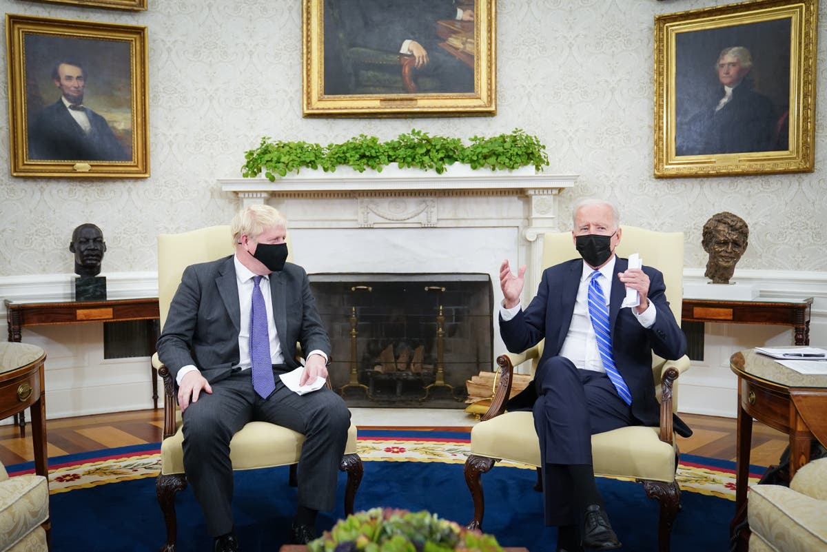 Johnson's post-Brexit ambitions have been dealt a blow by Biden | Andrew Grice