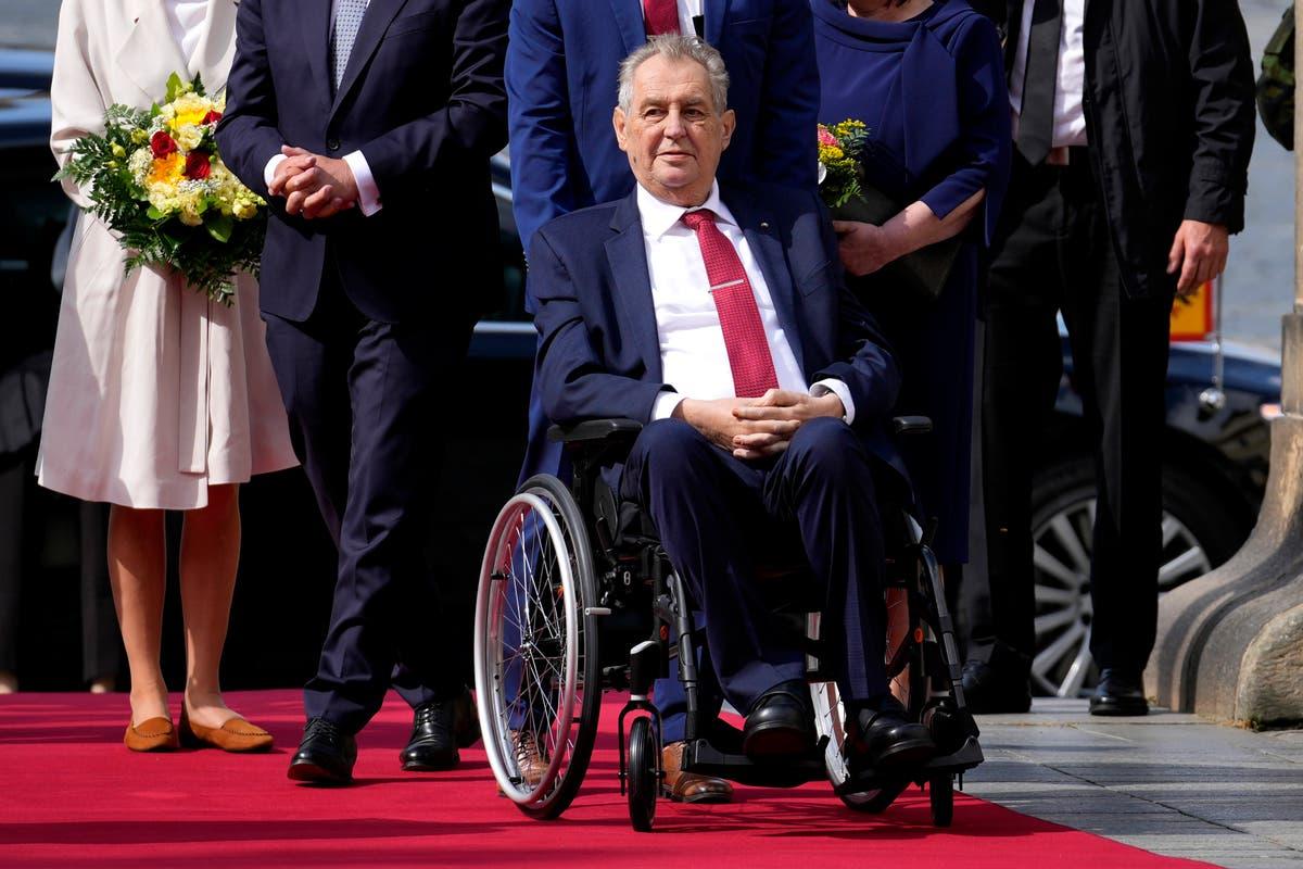 Czech president Milos Zeman released from hospital