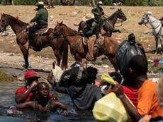Fra elven: Anger as border boss defends using 'whips' in round-up of Haitian migrants: 'We were protecting horses'