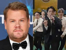 James Corden under fire after referring to the BTS fanbase as '15-year-old girls'