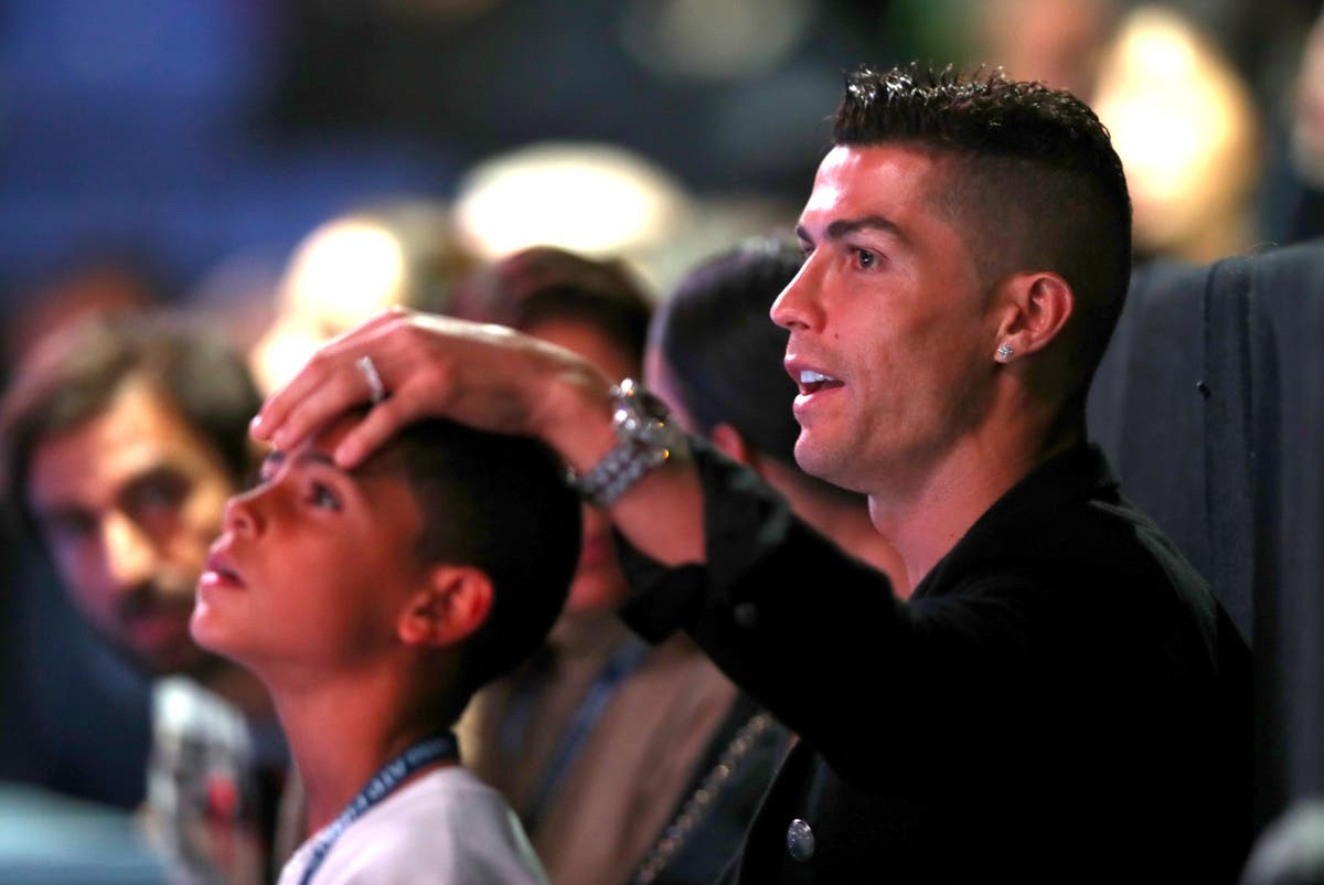 Cristiano Ronaldo's son is better than his dad was at same age, claims grandmother